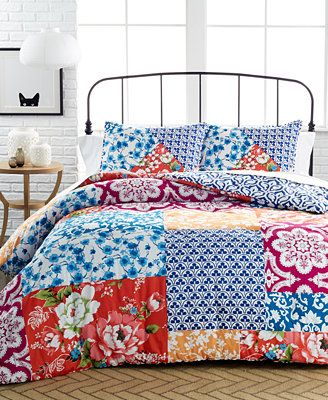 Chinoiserie 3 Piece Comforter And Duvet Cover Sets