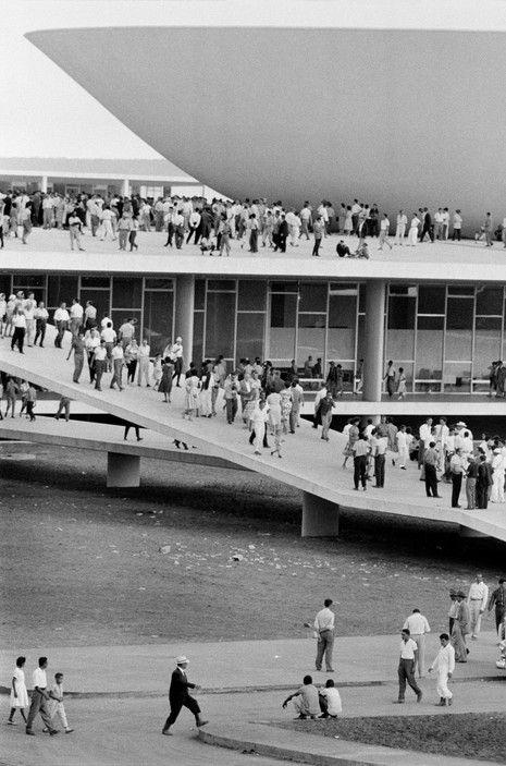 René Burri, BRAZIL. Brasilia.1960.