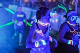 Rev3 Glow Run Light up Knoxville during an evening of family fun, where you can take part in a 5K or 1-mile fun run dressed to the hilt with glow sticks and all things bright and shiny.  #Rev3GlowRun #TheRUNderground #RUNderground #run #runner #running