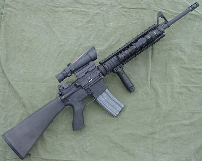 M16a4lh6 - List of individual weapons of the U.S. Armed Forces - Wikipedia