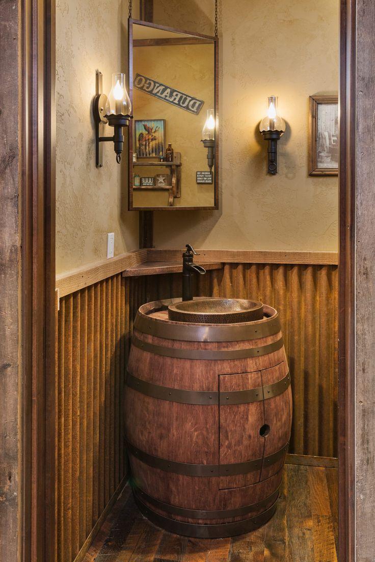 Best 25 Barrel sink ideas on Pinterest  Whiskey barrel