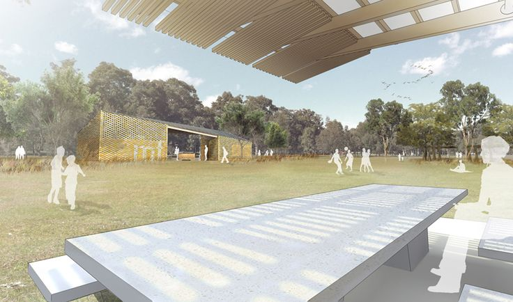 parramatta park amenities and shade shelters - lahznimmo architects