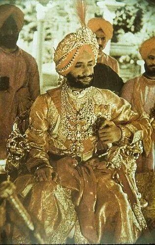 Maharaja Yadvindra Singh of Patiala