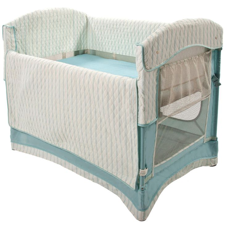"""Arm's Reach Ideal Co-sleeper Bedside Bassinet - French Blue - Arms Reach Concepts - Babies """"R"""" Us $229.99"""