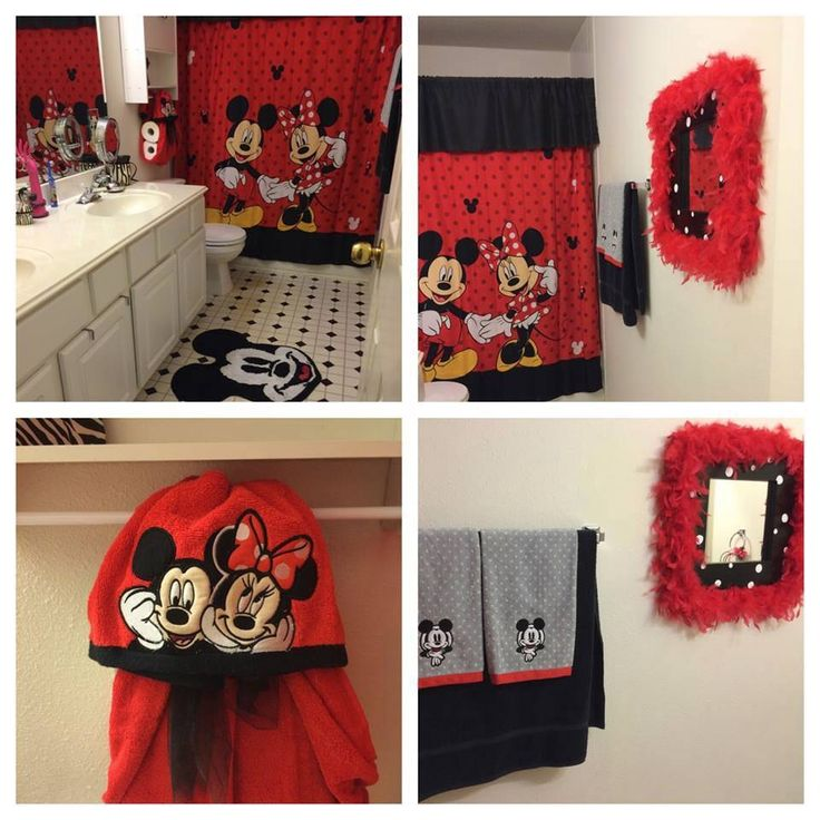 Fb user 39 s disney inspired bathroom source unknown Disney bathroom ideas