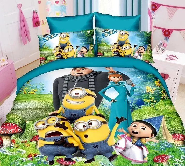 Like and Share if you want this  Green Cartoon Minions Printed Bedding Sets Children Bedroom     Tag a friend who would love this!     FREE Shipping Worldwide     Buy one here---> https://www.cancoot.com/green-cartoon-minions-printed-bedding-sets-children-bedroom/