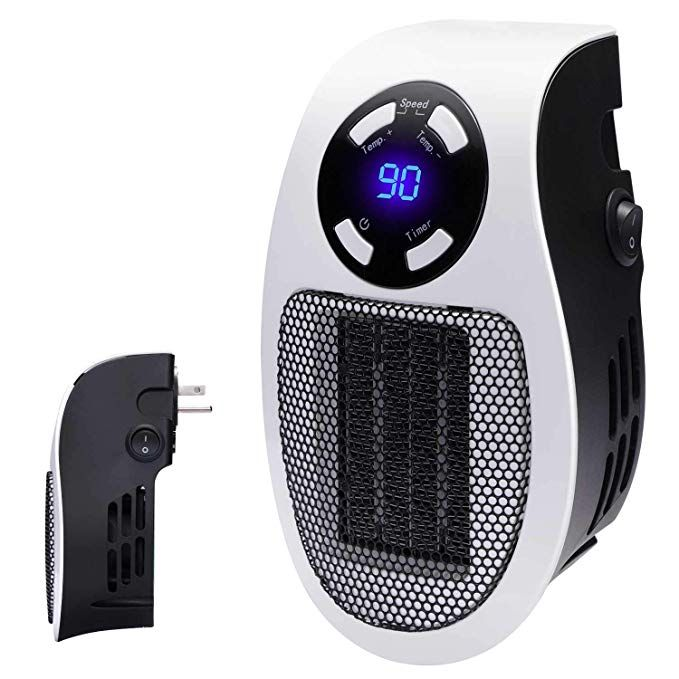 Portable Plug In Personal Space Heater Electric Heater Portable