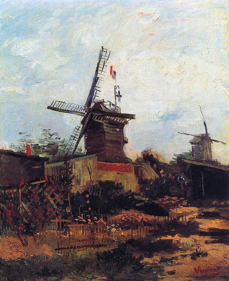 The Mill of Blute End, 1886			-Vincent van Gogh