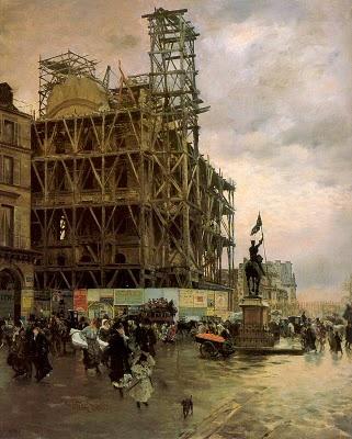 Giuseppe De Nittis (Artist)   La Place des Pyramides, 1875   Paris, France