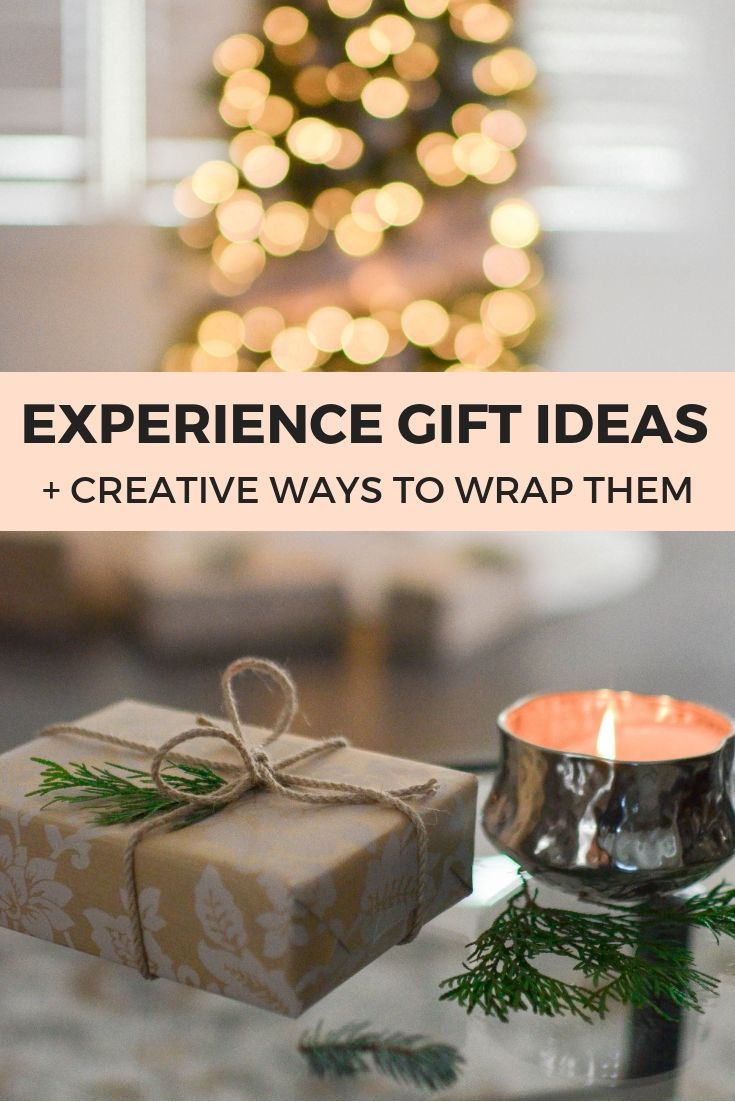 6 Best Experience Gift Ideas How To Gift Them Experience Gifts Relationship Gifts Diy Gifts For Him