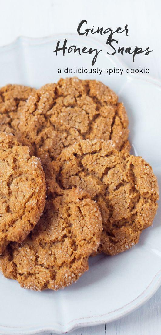 Ginger Honey Snaps   eatlittlebird.com