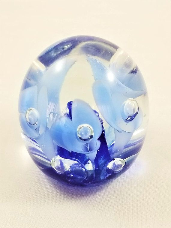 Pottery & Glass Glass Joe St Clair Paperweight