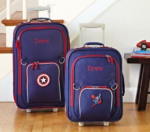 Fairfax Navy Luggage Pottery Barn Kids Baby Furniture