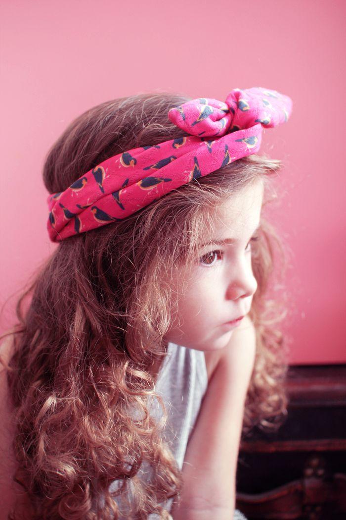 4 tutos de coiffures headband pour enfants   Poulette Magique