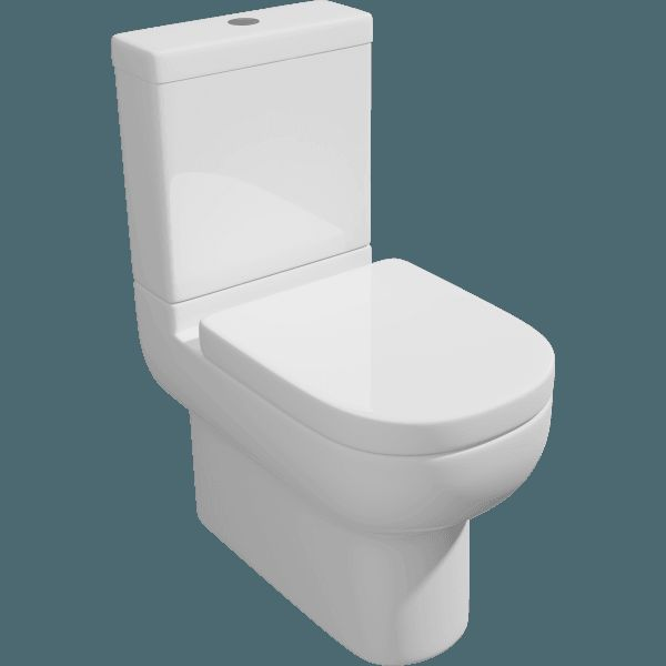 Affine Oceane Space Saving Toilet
