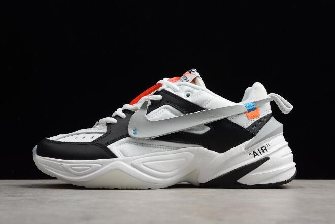 info for 6ddb3 66ed0 Latest OFF-WHITE x NIKE M2K Tekno BlackWhite-Grey Mens and Womens Size  A03108-062