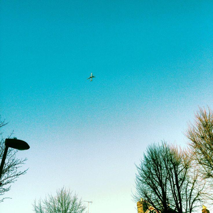 Looking up. Looking down. #skies above #london