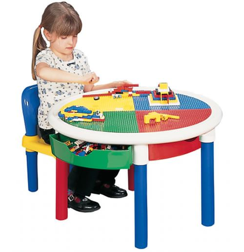 kids storage table and chair set