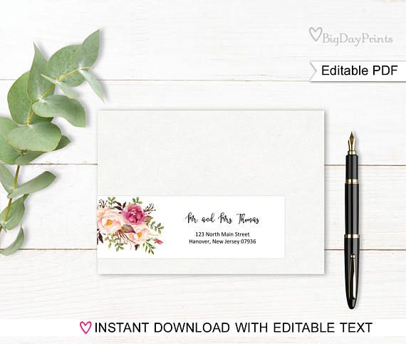 25 best ideas about address label template on pinterest print