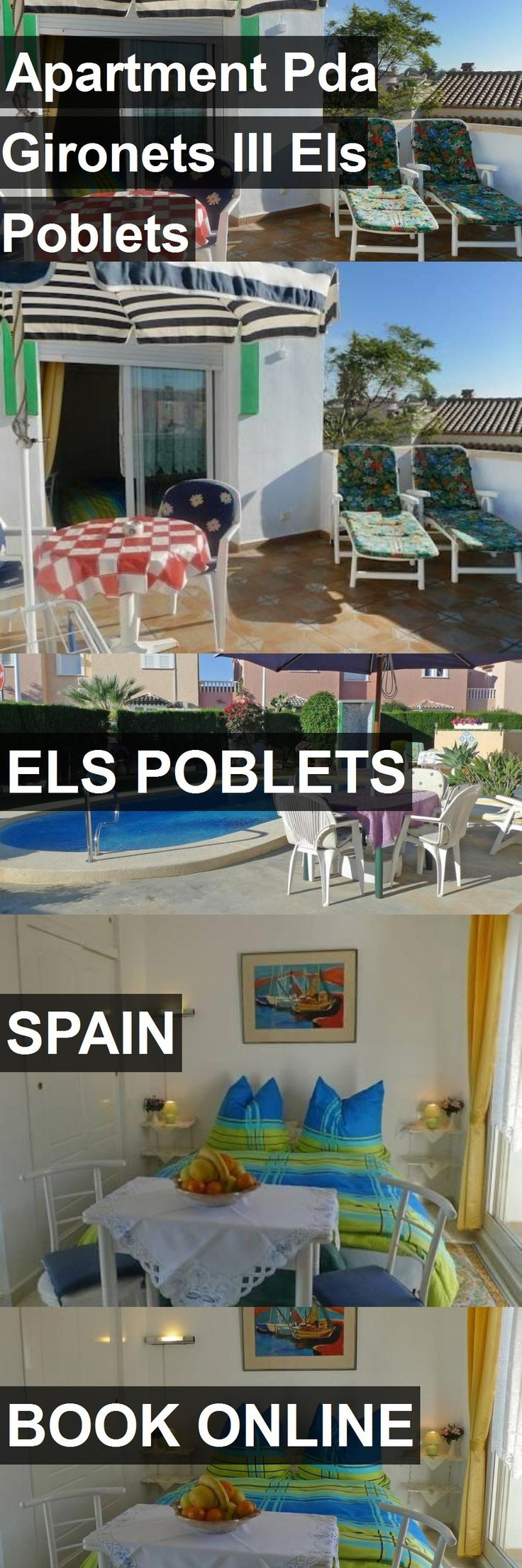 Apartment Pda Gironets III Els Poblets in Els Poblets, Spain. For more information, photos, reviews and best prices please follow the link. #Spain #ElsPoblets #travel #vacation #apartment