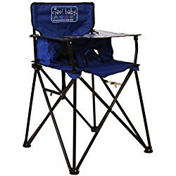 ciao! baby Portable Travel Highchair, Blue