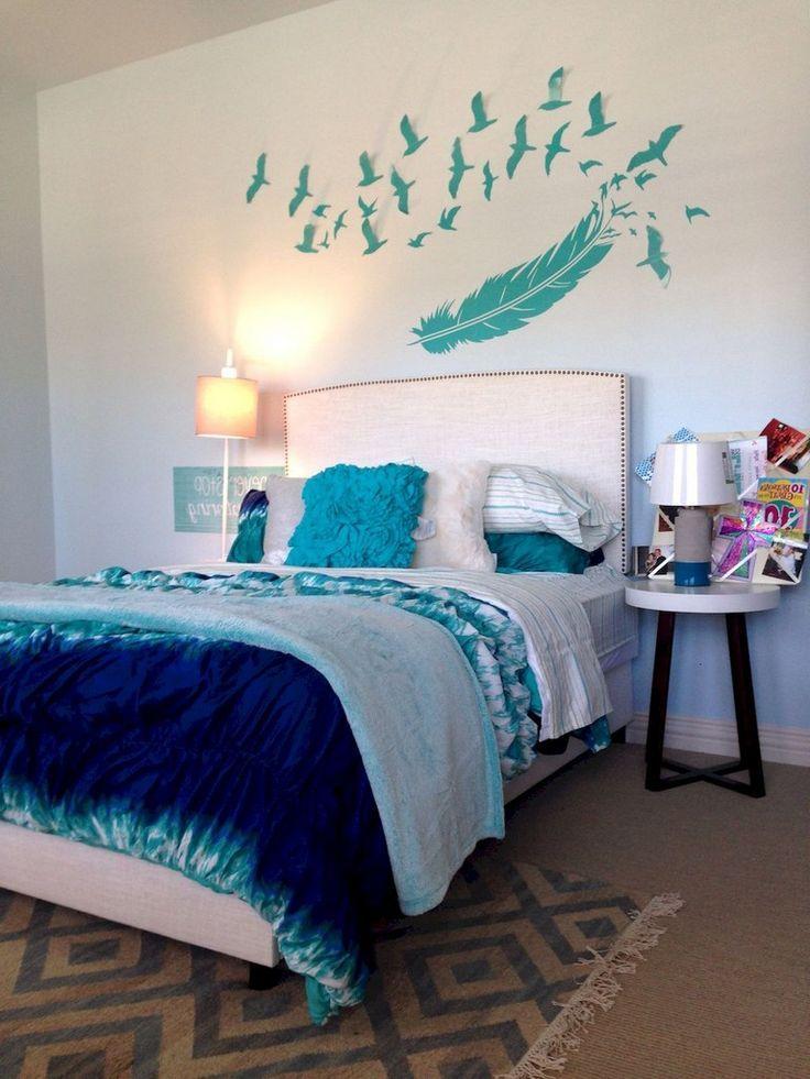 60 Cute Tween Bedroom Decorating Ideas For Girls 10 Year Old Bedroom Ideas Teengirl Bedroom Dr Teenage Room Decor Girls Blue Bedroom Bedroom For Girls Kids