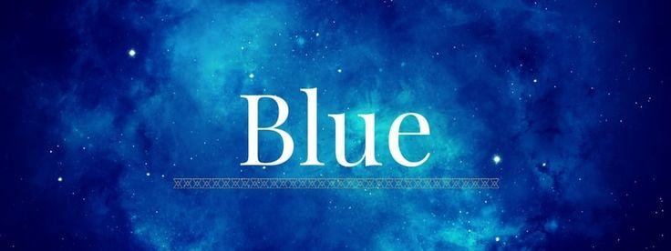 Blue True Color image