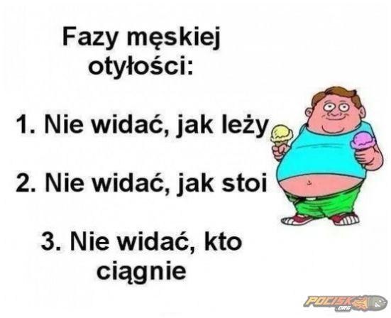 Męska otyłość.  www.pocisk.org