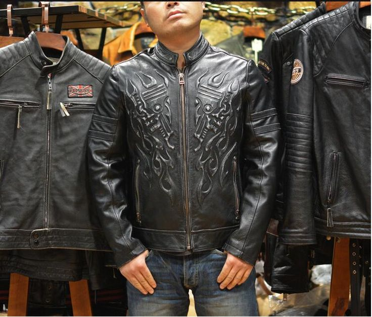 17 Best images about I Like Men Leather Jacket on Pinterest | Mens ...