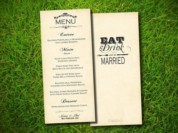 12 best Wedding menu card images on Pinterest Wedding menu cards - fresh invitation card reuse
