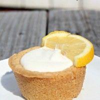 Lavender & Lemon Cheesecake Cookie Cups