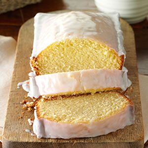 Sparkling Cider Pound Cake Recipe from Taste of Home -- shared Nikki Barton of Providence, Utah