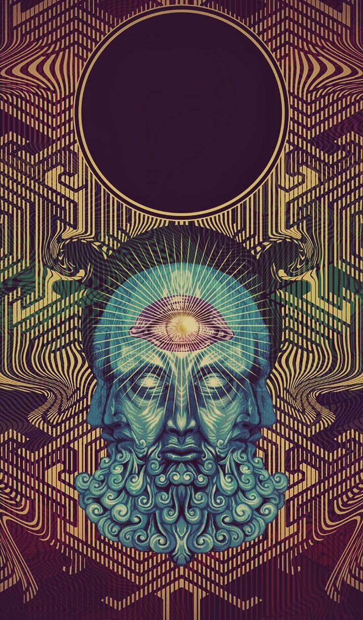 iPhone wallpaper Psychedelic artwork, Art, Psychedelic art