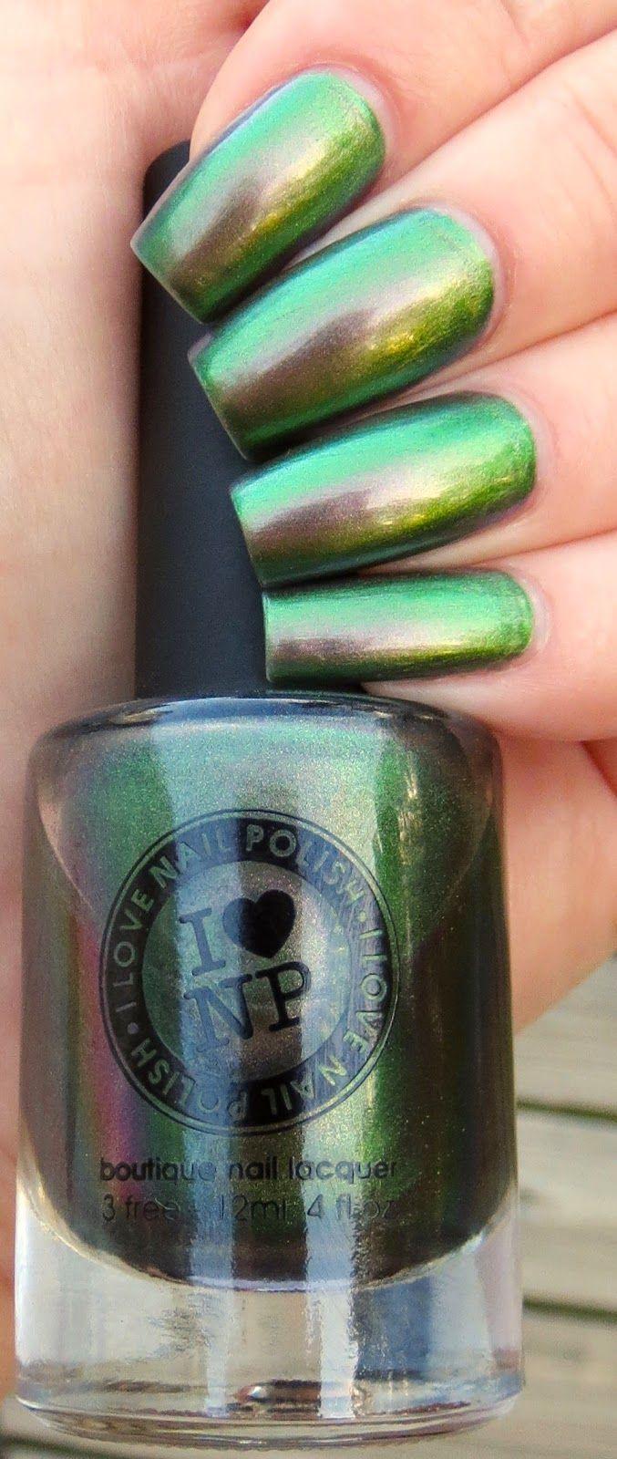 Mutagen Manicure - I Love Nail Polish #ILNP #Mutagen #manicure #nails #nailpolish #metallic #pretty #duochrome #naillacquer #ilovenailpolish