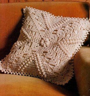 Подушки, подушки, подушки связанные крючком. - запись пользователя Марина в сообществе Вязание крючком в категории Вязаные крючком аксессуары