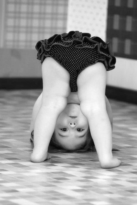 Future gymnastics star?