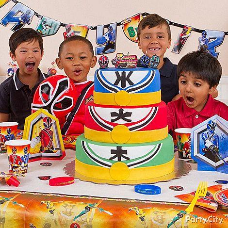 Power Rangers Samurai 2 Edible Birthday Party Cake Image Cupcake  more at Recipins.com