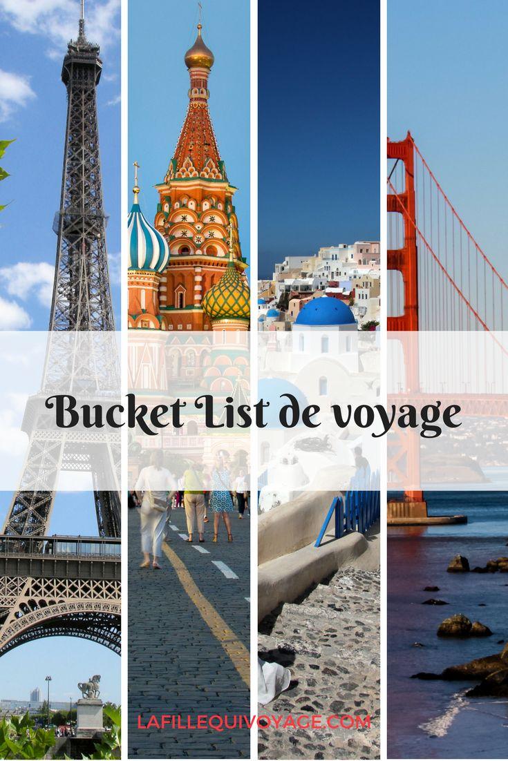 Une tonne d'idées de destinations voyage, de lieux à visiter et d'expériences à vivre.