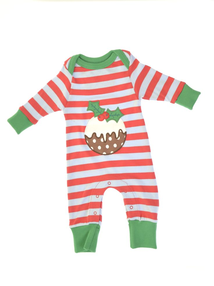 Christmas pudding playsuit, £23