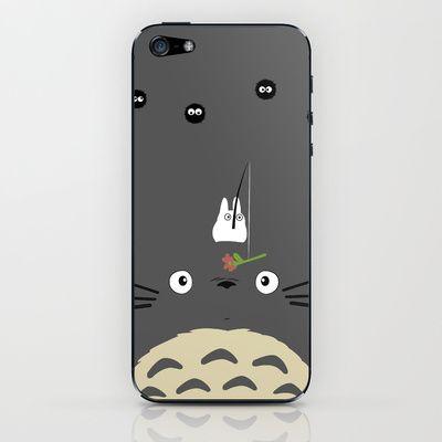 Cute Totoro iPhone & iPod Skin