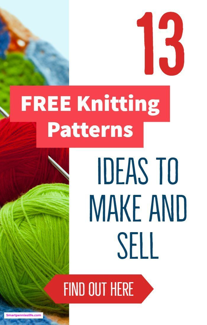 Knitting Patterns I Can Make And Sell