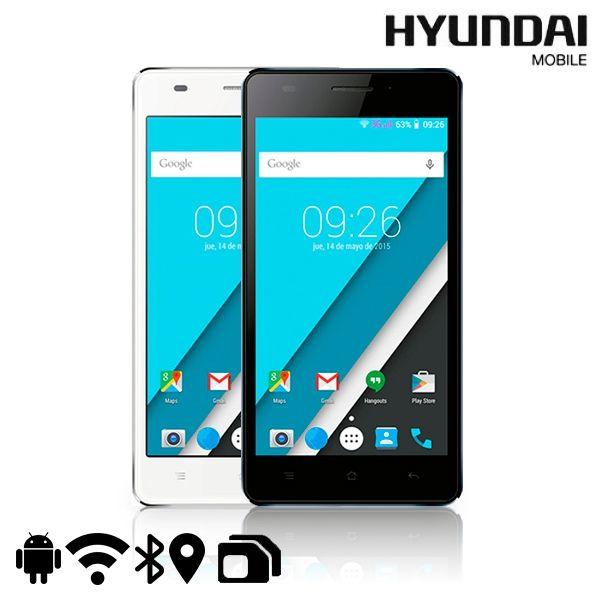 ¡A qué esperas para renovar tu móvil! Adquiere este SMARTPHONE 5'' HYUNDAI KORE en balnco o negro con funda de regalo Solo por 110.99€ en tu tienda de oció y electrónica Prideprice.com