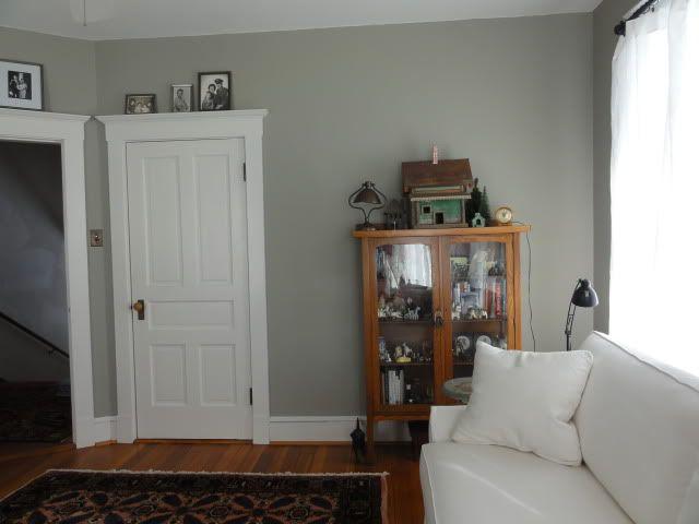 Benjamin Moore Sandy Hook Gray Living Room Pinterest
