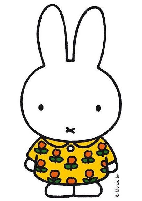 Miffy In her super cute yellow dress :D ❤