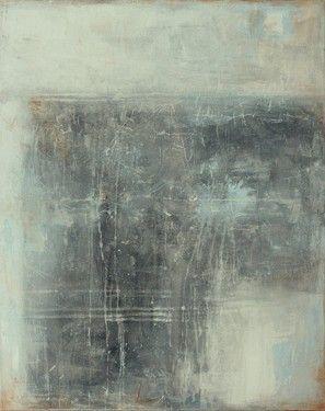 "Saatchi Online Artist CHRISTIAN HETZEL; Painting, ""grey painting"" #art"