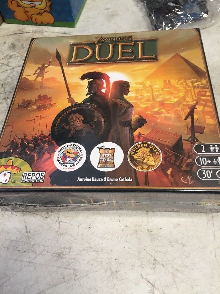7 Wonders - Duel - Board Game Brand New Factory Sealed Free Shipping | eBay