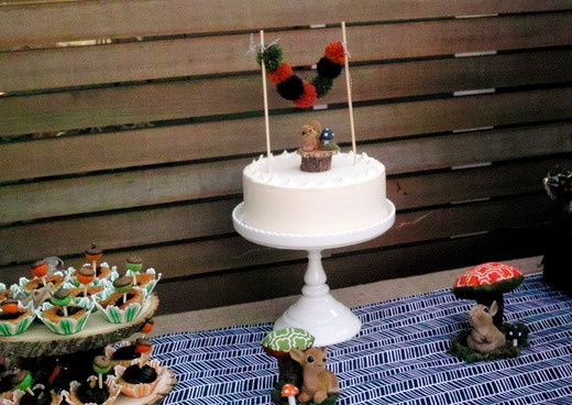 Woodland Theme: Cake Topper