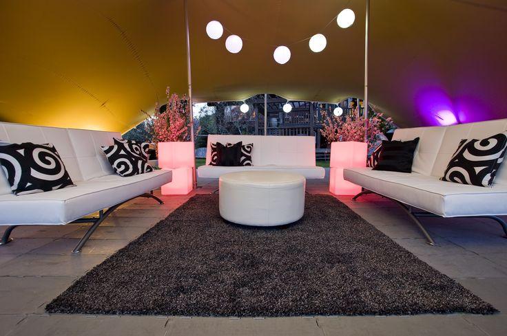 Event Rental Works VIP lounge setup