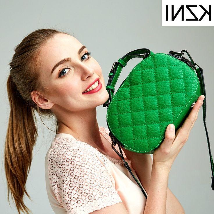 52.56$  Buy here - http://alit8x.worldwells.pw/go.php?t=32782816530 - KZNI genuine leather female bags womens handbags high quality ladies hand bags luxe handtassen vrouwen tassen designer L121859 52.56$