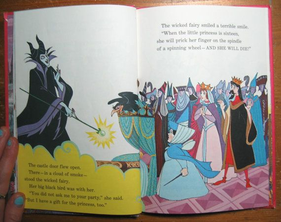 Vintage Childrens Book: Walt Disney's Sleeping Beauty ...